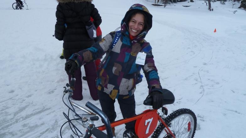 Elo, le vélo c'est pour être monter !